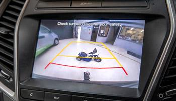 Parking sensor and reverse cameras