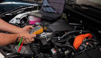 Vehicle electronic diagnostics